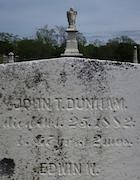 Cemetery 25 Dunham John PHC&M 25