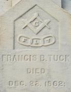 Cemetery 25 Tuck Francis