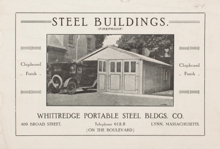 2020 Commercial 098 Whittredge Pamphlet HISTORIC NEW ENGLAND